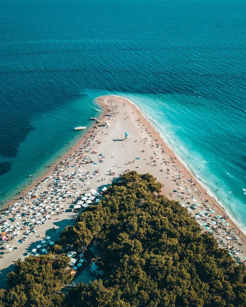 Zlatni Rat Beach, Bol Croatia