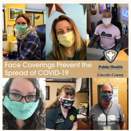 Lincoln County Facial Covering (KN95) Giveaway on June 30th, 3PM to 7PM