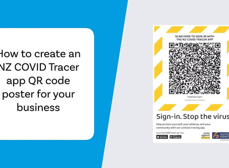 QR Code Posters and Contact Tracing