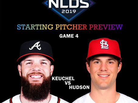 2019 NLDS Game 4 Pitching Preview