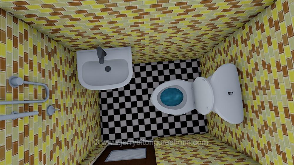 toilet & bath of lumina aimee house model