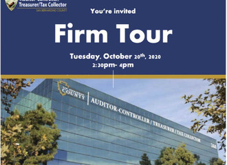 SB County Auditor-Controller/Treasurer/Tax Collector (ATC) Firm Tour