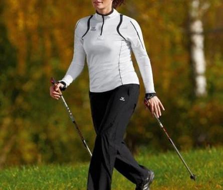 Co ubrać na trening Nordic Walking?