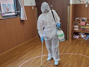 【コロナ消毒】作業実績紹介・11月・保育園・東京