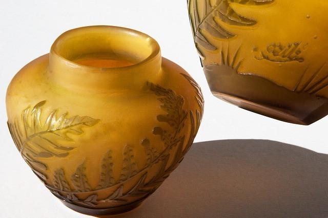 Émile Gallé Art Nouveau glass
