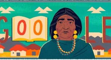 Google homenajea a Dolores Cacuango en su Doodle