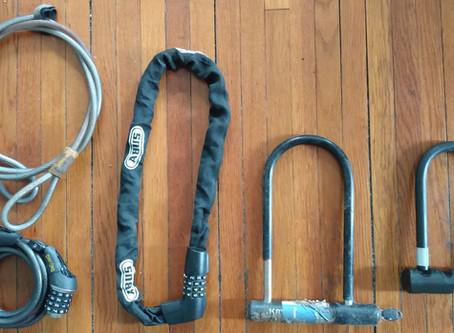 The art of locking your bike!