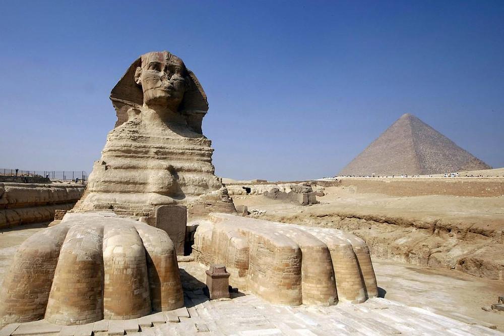 Архитектура Египта. Сфинкс.