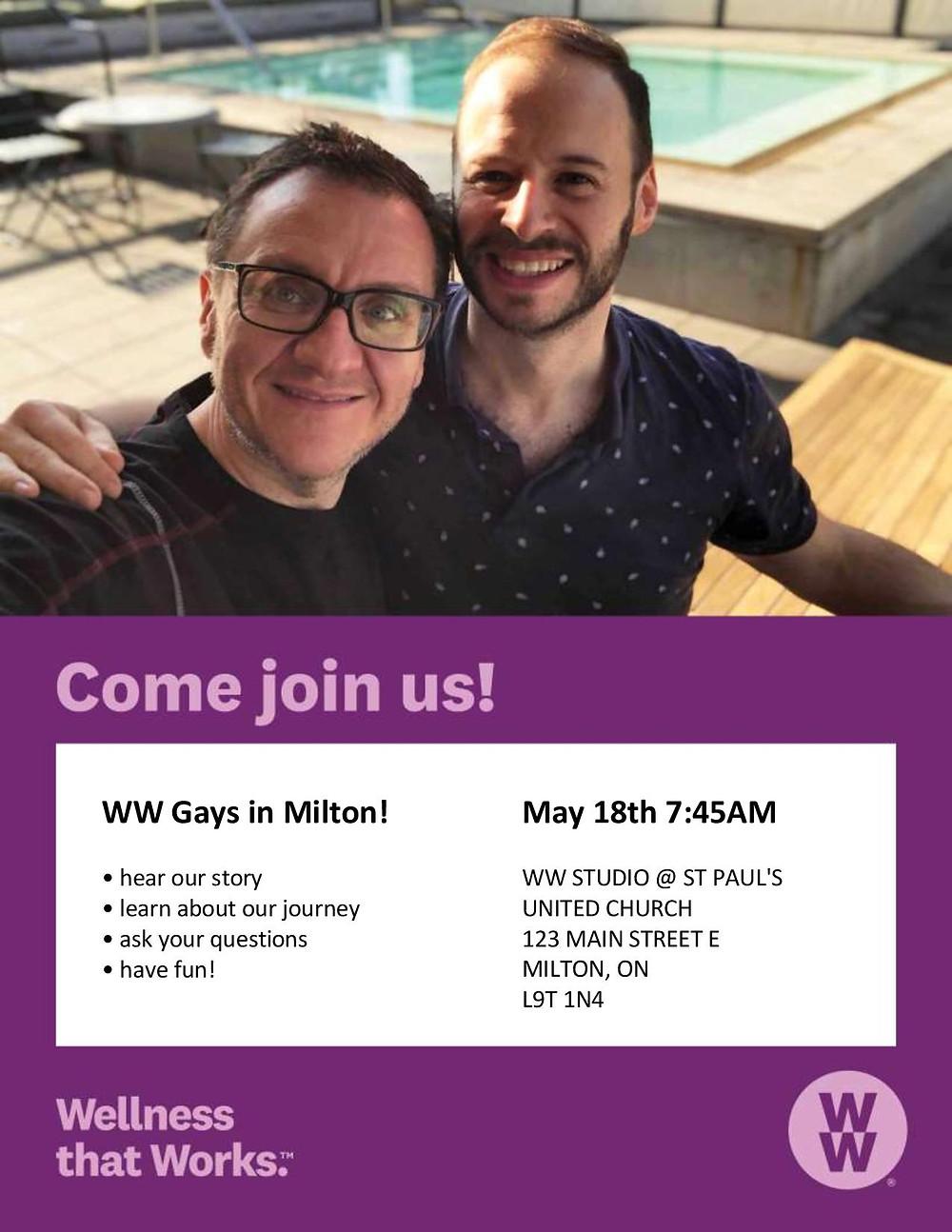 WW Gays in Milton!