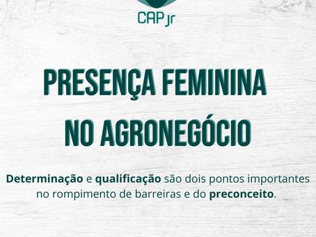 Presença feminina no agronegócio