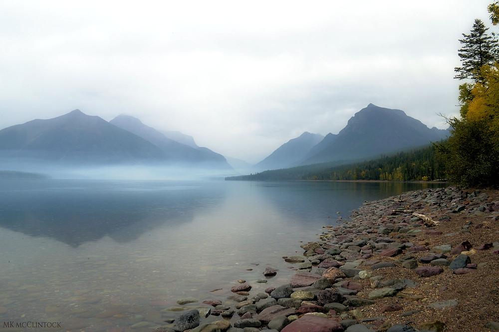Lake McDonald in Glacier National Park_MK McClintock