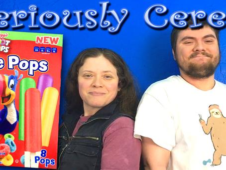 Ice Pops In AUTUMN?! (Sorta Cereal!)