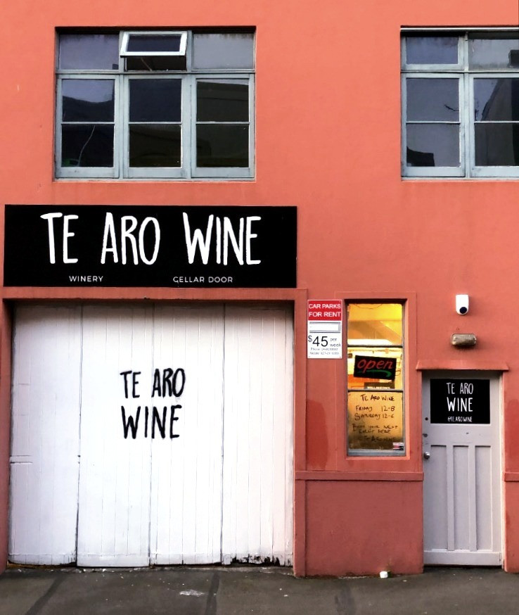 Te Aro Wine Knook NZ Winery Cellar Door