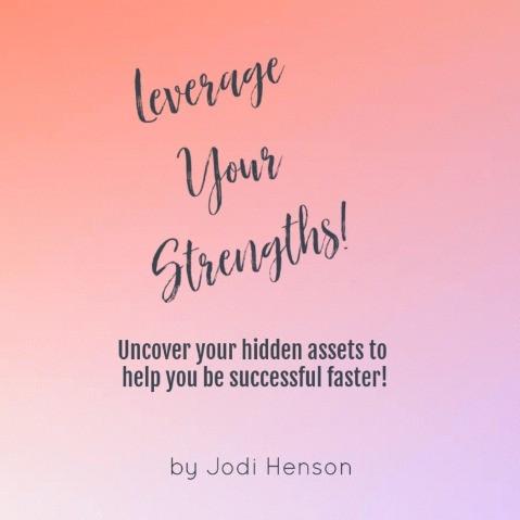 Leverage Your Strengths workbook