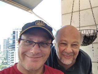 ראיון של ויקטור בראון ושלי בסינמאקשן 106FM