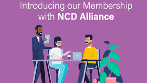 Partnership Network Member with NCD Alliance