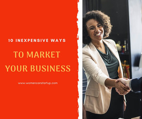 10 Inexpensive Ways To Market Your Business