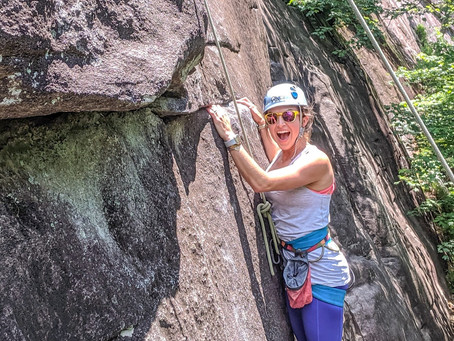 Your First Outdoor Climb