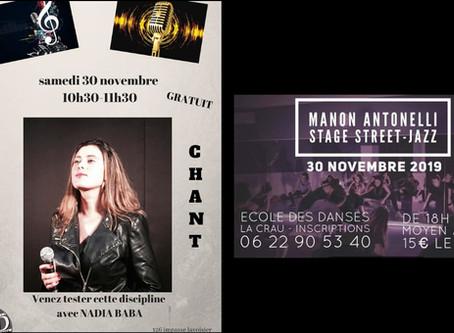 Samedi 30 Novembre !!!