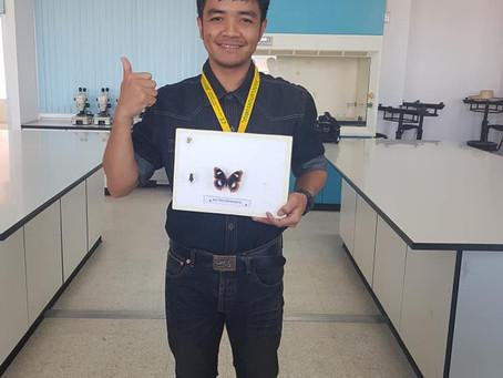 นักศึกษากีฏวิทยา ชั้นปีที่ 3  ได้รับเหรียญทอง การแข่งขันเซตแมลง ในงานประเพณี 4 จอบแห่งชาติ