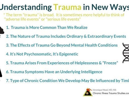 Understanding Trauma in New Ways