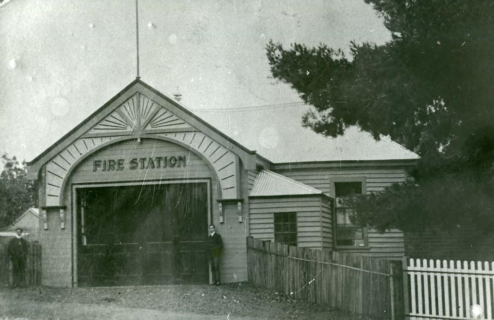 Parkes Fire Station, c. 1915