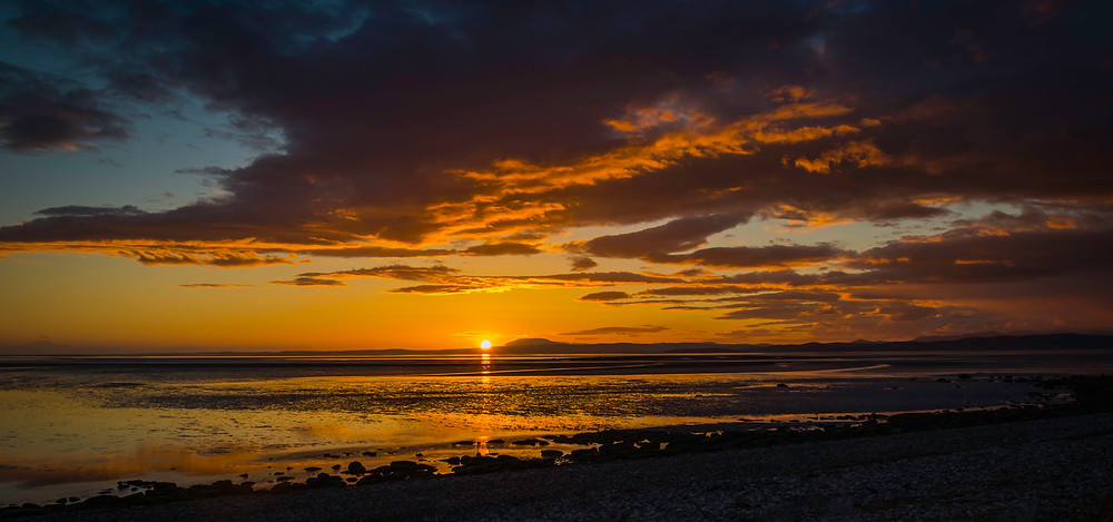 Taken on the sea front at Morecambe, looking over Morecambe Bay