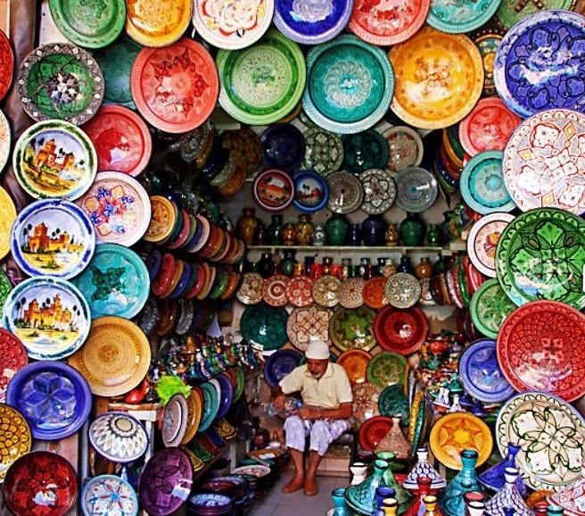 Morocco Marrakech souk