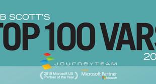 Microsoft ERP Partner JourneyTEAM Announced to 2020 VAR Stars  — TOP 100 ERP Organization