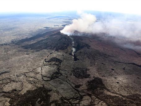 Kilauea Volcano in Hawaii Island