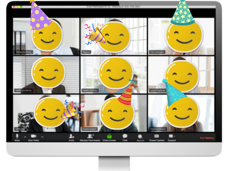 Book your child a virtual birthday party and support three small businesses at the same time!