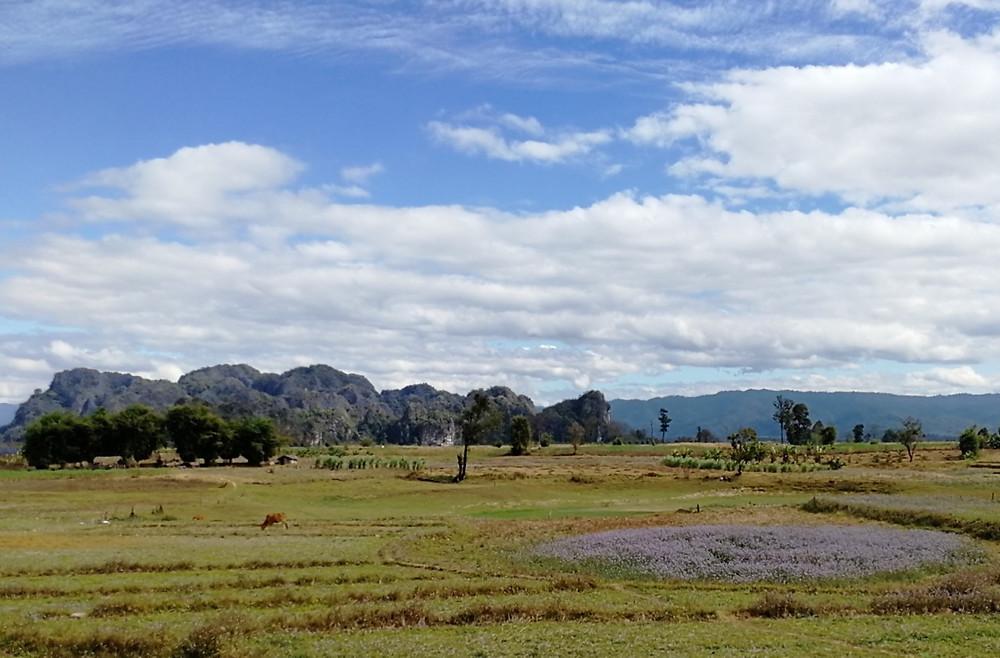 Tour du monde à vélo en famille Boucle de Thakhek au Laos