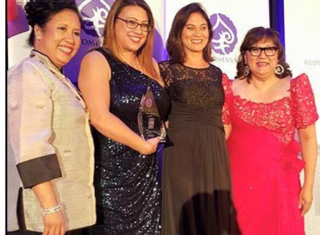Noelani Pearl Hunt RECOGNIZED GLOBALLY as a Filipina of distinction