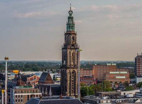 The city of Groningen