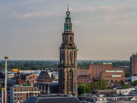 The city of Groningen