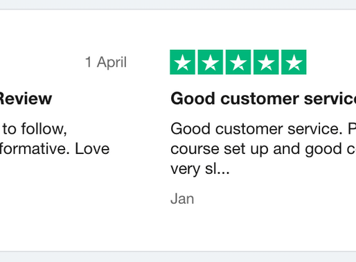 Trustpilot reviews, Part 2: a second experiment with a new widget