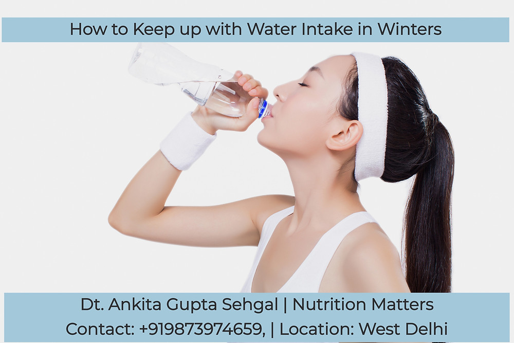How to Keep Up With Water Intake in Winters