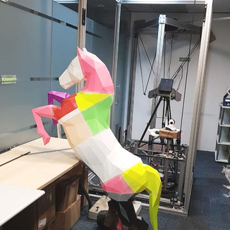Impressão 3D de Estátua: Projeto cavalo