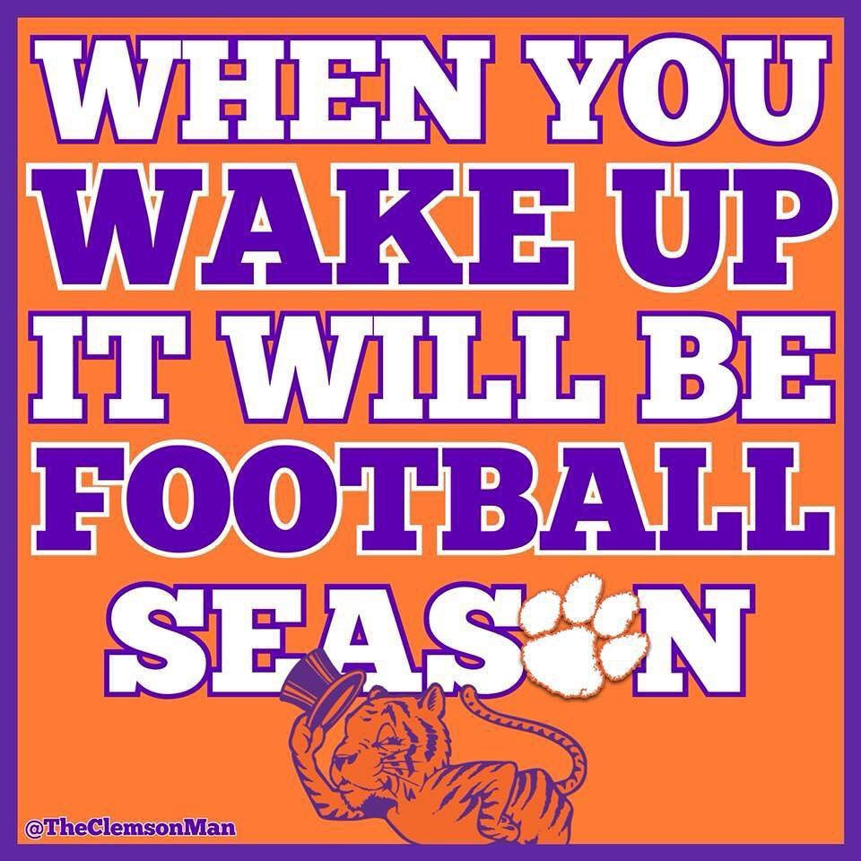 IT'S HERE.... CLEMSON FOOTBALL ARE YOU ALL IN ? | The ...