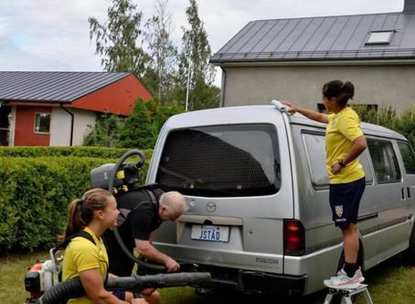 Johanssons Städ ger oss rent sinne inför HJK matchen