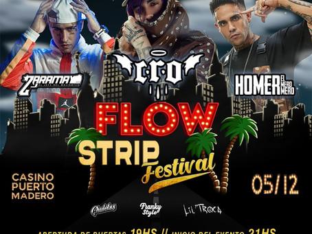 Auto Concierto en Puerto Madero - Flow Strip Festival