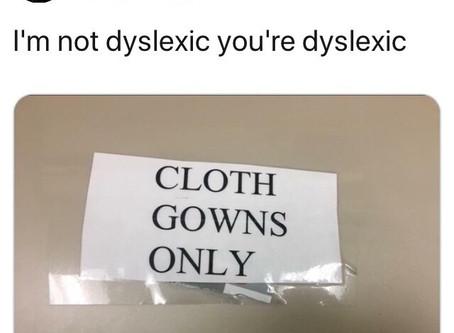 Dyslexia Memes