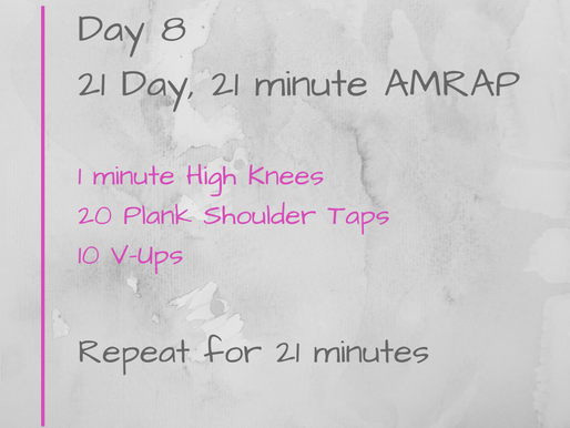 21 Day Challenge - Day 8