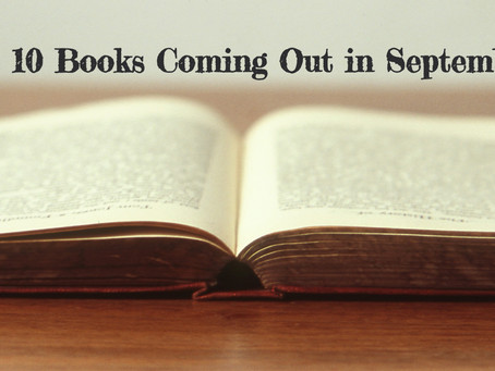 My Top 10 New Books Coming in September 2020 (Giveaway Announced!)