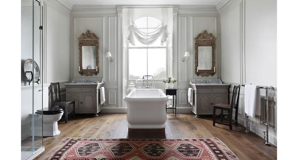 Classic bathroom.