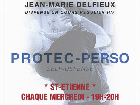 2019-2020 - Cours Protection perso à St-Etienne (42)