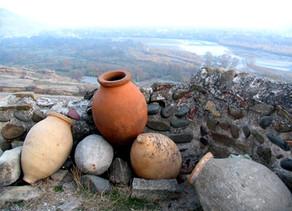 Traditional Georgian Wine Making