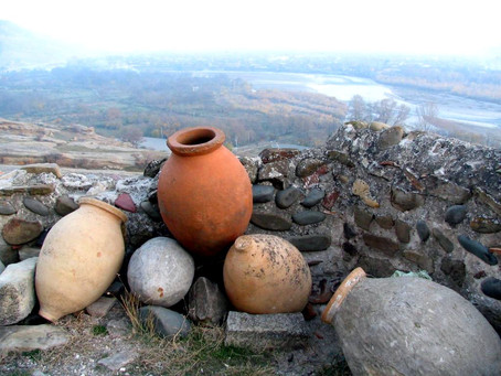 Traditional Georgian Wine Making