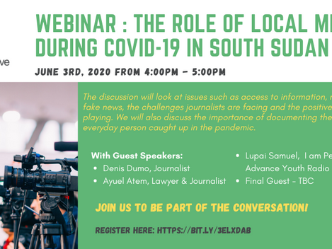 The role of local media during COVID-19 in South Sudan