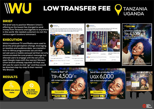 Low transfer fee